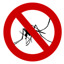 No Mosquito Sign
